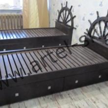 Кровать, образец №11