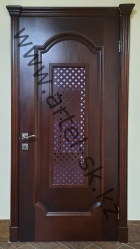 Пример изготовления и врезки декоративной ячеи <br/>в дверное полотно