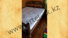 Кровать брашированная образец №2