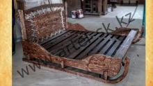 Кровать брашированная образец №4<br/>