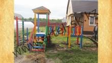 Детский игровой комплекс, модель №3