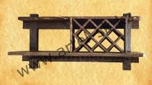 Полка образец №4 (винная)<br/>