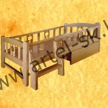 Кровать, образец №18