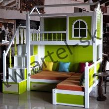 Кровать, образец №34