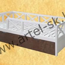 Кровать, образец №52