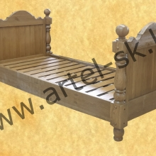 Кровать, образец №65