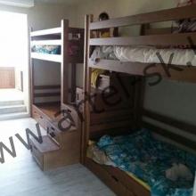 Кровать, образец №14