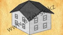 Тип крыши - бубновая