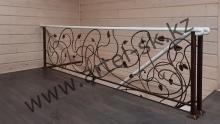 Лестница кованая<br/>пример работ №44