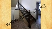 Лестница кованая<br/>пример работ №45