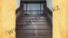 Лестница деревянная<br/>пример работ №72