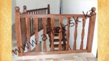 Лестница деревянная<br/>пример работ №7