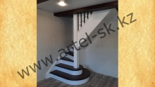 Лестница деревянная<br/>пример работ №69