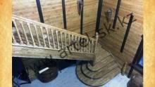 Лестница деревянная<br/>пример работ №2