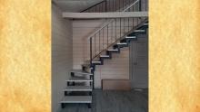 Лестница кованая<br/>пример работ №46