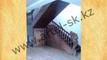Лестница деревянная<br/>пример работ №17
