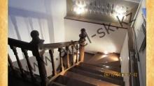 Лестница деревянная<br/>пример работ №5
