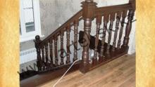 Лестница деревянная<br/>пример работ №6