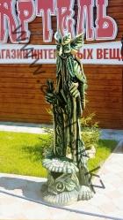 """Скульптура """"Зеленый лесовик"""""""