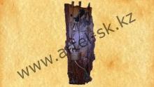 Лук со стрелами на слэбе из карагача