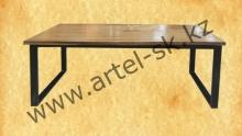Стол модельный образец №108<br/>слэб карагача<br/>размеры 1400*600*800 мм