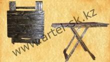 Стол брашированный раскладной