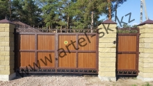 Ворота модель №48