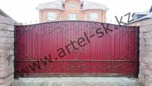 Ворота без калитки модель №74