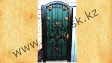 Ворота с калиткой модель №14