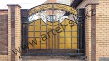 Ворота  модель №80