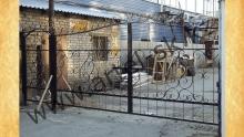 Ворота с калиткой модель №50