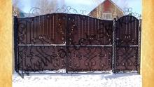Ворота с калиткой модель №60