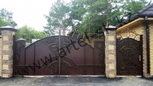 Ворота модель №64