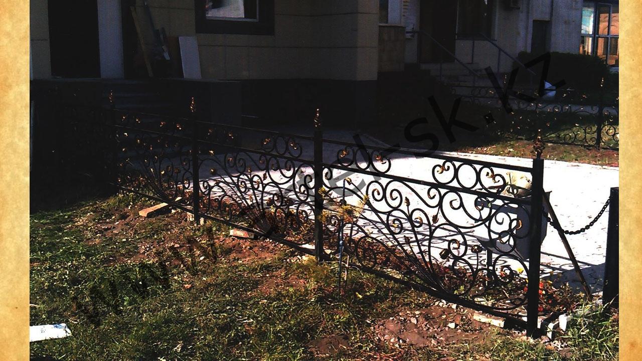 Ограда для палисадника своими руками 83