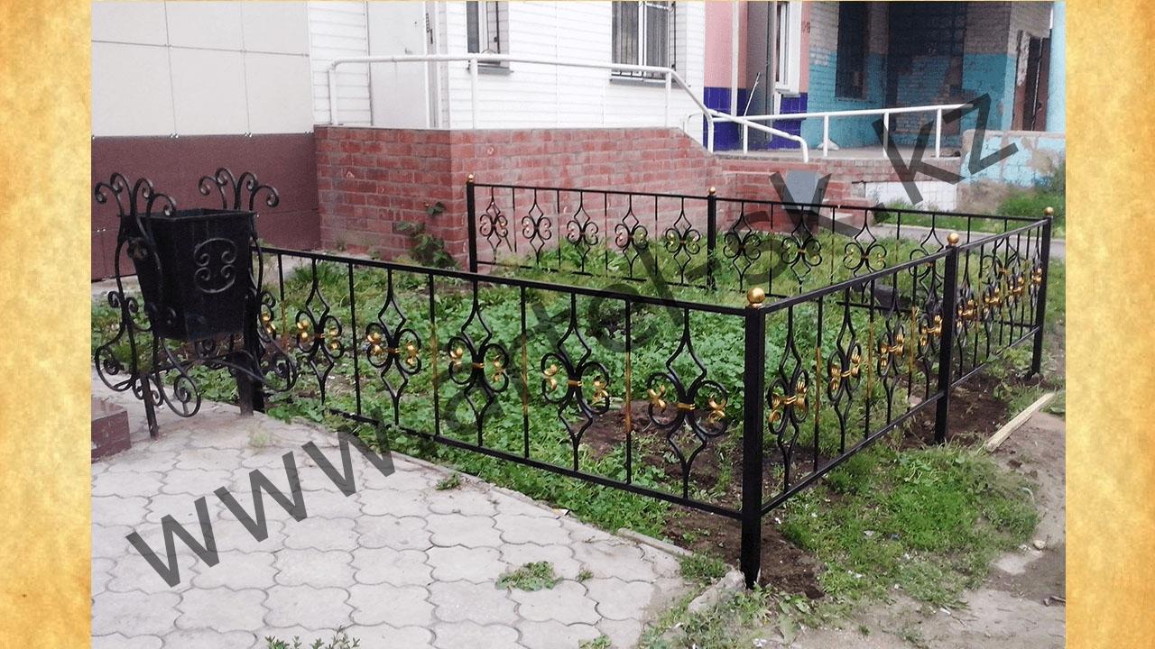 Ограда для палисадника своими руками 46
