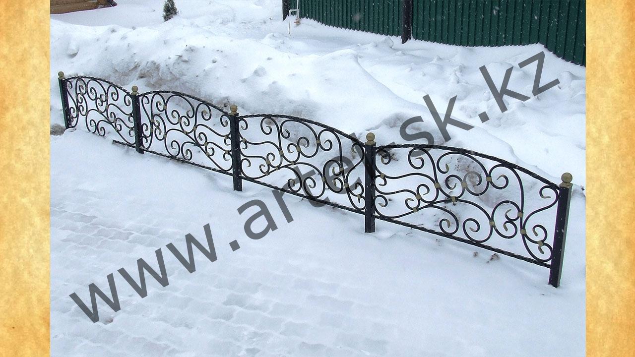 Ограда для палисадника своими руками 19