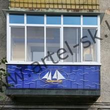 Ограждение для балкона №3