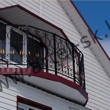 Ограждение балконное №1