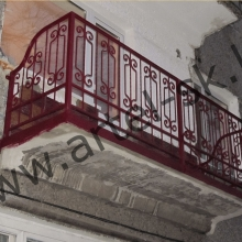 Ограждение балконное №4